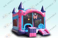 princess bouncing castles, inflatable bouncy castle for sale  KKIC-L038