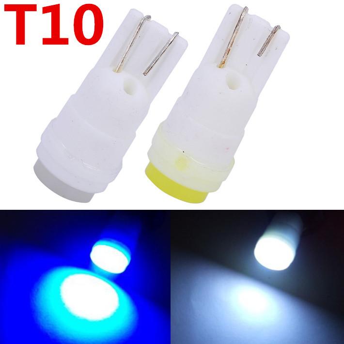 Free shiping 4pcs/lot T10 W5W Ceramic 194 168 high power Car LED light Bulbs W5W Led Car Light Car Styling Led Lamp 12V Auto(China (Mainland))