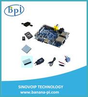 Banana pi kit Banana PI+case+CPU&DDR heat sink +SD Card+sata line EU Power Adapter+USB Line like Raspberry PI and cubieboard