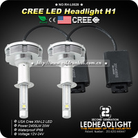 All in one!Car CREE LED H1 Headlight/Headlamps/Bulbs 20W 2400LM for KIA RIO TOYOTA Chevrolet Ford Mazda Skoda Renault and more