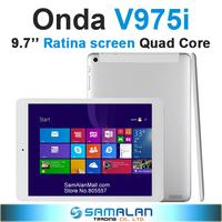 9.7'' Onda V975i WIN8 Intel Z3735D 1.3GHz Quad Core Tablet PC V975w V975m 2048x1536 pixels Retina 2GB RAM 32GB
