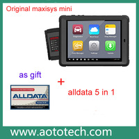 New arrival Autel MaxiSys Mini ms905 Automotive Diagnostic tool with LED Touch Display Free Online Update one year warranty