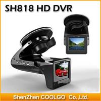 Original SH818 HD 1080p Car DVR Camera Recorder + E-dog Radar Detector G-sensor Car Black Box Camera Radar Detection