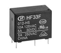 Hongfa relays HF33F-012-HS JZC-33F-012-HS3 5A250VAC 4 feet normally open