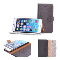 """Free shipping DS- Zebra Patterns Leather Case Stand Card Wallet Cover  Case For Apple iPhone 6 4.7"""""""