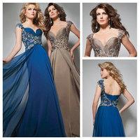 Floor Length Dress Party Evening Elegant A Line Chiffon Women Prom Gowns