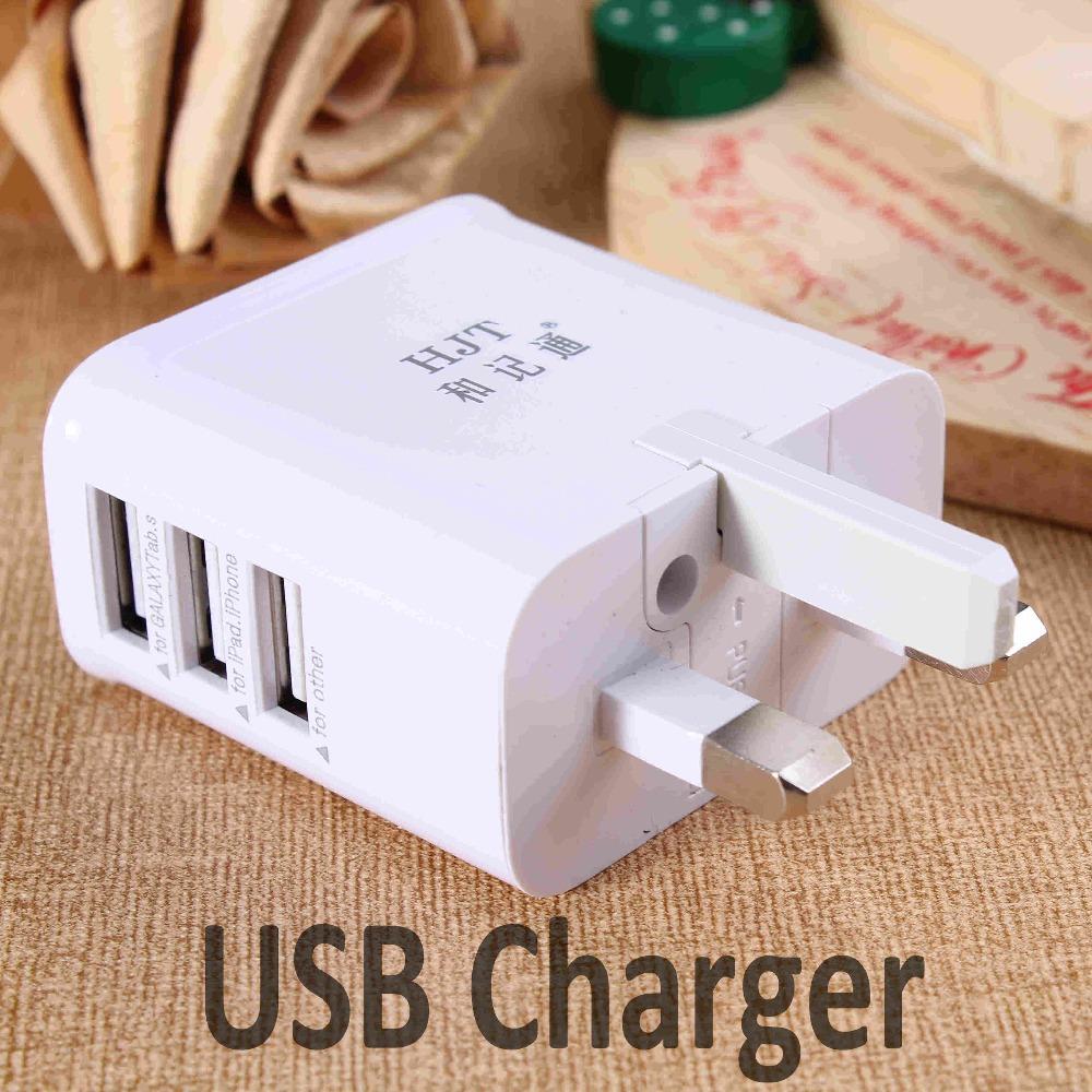 3.1A 3 Ports USB Charger Universal USB Wall Charger AC Mobile Phone Charger For Home Travel With US UK EU AU Plug Optional(China (Mainland))