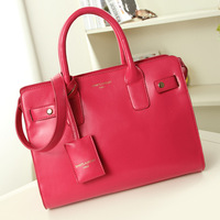 women leather handbags shoulder bag concise matte leather zebp097 free shipping