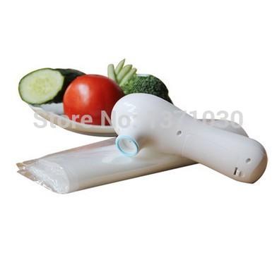 Household food vacuum fresh-keeping machine hand-held electric sealer snacks sealing machine packaging machine(China (Mainland))