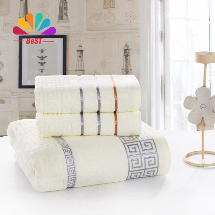 3pcs towel 100% Cotton bath beach face towel sets for adults  34cm*75cm*2p 70cm*140cm*1p  fiber gift  bathroom baby towels ST30(China (Mainland))