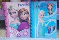 "FROZEN snow ""coil notebook Notepad children's cartoon stationery"