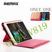 Original Genuine REMAX messenger bag For ONDA V819 leather Case tablet PC cover ,free shipping