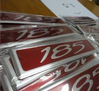 185 badge VR VS Clubsport engine 185i cover badges senator Australian Lion COMMODORE VN VP VR VS 185 METALVE SS SSV SV6 [Q'S]