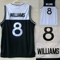 Free Shipping S-XXL Brooklyn 8 Deron Williams Color Block Basketball Jerseys, New REV 30 Embroidery Logo Deron Williams Jersey