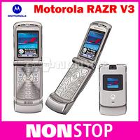 5pcs/lots Unlocked Origina V3 Motorola Mobile Phone 2.2 inch Screen Multi Language Original Motorola RAZR V3