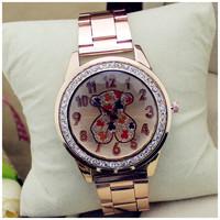 Casual Watch Teddy Bear Wristwatches Man Women Quartz Watch Women Dress Watch Women's Watches Relogio Atmos Clock Reloj GT0830