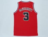 Free Shipping S-XXL Chicago #3 Doug McDermott Jerseys, Cheap Basketball Jersey Doug McDermott New Rev 30 Embroidery Logo Red