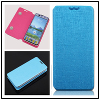 Free Shipping New Arrival  Flip PU Leather Case For Fly F40 Cover 3.8 Inch Android Mobile phone cases for Fly F40 5 colors