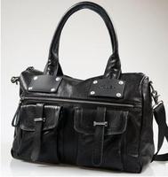 100% Genuine Leather 2014 New Men's Vintage Casual Messenger Bags Travel Shoulder Bags Fashion Designer High Quality Laptop Bags