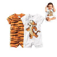 newborn baby boy clothing rompers tigger cartoon tiger roupas de bebe clothes infantil jumpsuit wear blanket bedding set swaddle