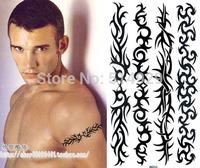 temporary tattoo freeshipping / tattoo sticker / Male / Female / waterproof / tattoo sticker / strip armbands / arm stickers
