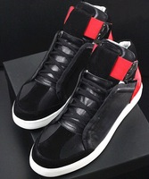 Fashion New Y men & women high top 100% genuine leather sport 3 sneakers shoes size 38-45