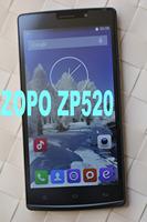 Original ZOPO ZP520 ZOPOZP520 4G LTE FDD WCDMA 5.5 inch IPS 960x540 MTK6582M Quad Core 1.3GHz 1G 8GB 2.0MP 8.0MP OS4.4 OTG GPS
