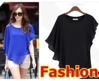 Blusas femininas 2014 spring Summer Women Blouses shirt atacado roupas femininas Lace Shirts Chiffon Blouses Casual vestidos