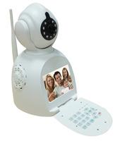 Wireless network phone camera video phone camera wifi P2P night vision IP cameras alarm functions