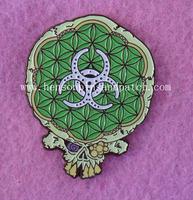 Customized Jelly fish pin, jelly fish badge