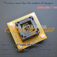 IC201-0804-014 test socket QFP80 LQFP80 TQFP80 ic socket (With PCB board) Pitch=0.5mm Size=12x12/14x14mm