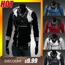free shipping New Arrival Men's Winter&Autumn,,Zipper Fashion Brand Men's Coats,Slim Fit ,Plus Size,4XL,winter jacket men(China (Mainland))