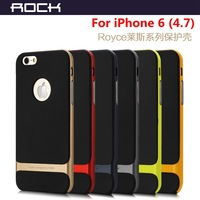 Rock High Quailty Royce Series ultra-thin Fashion Luxury Back Cover Case For iPhone 6 4.7 Free shipping