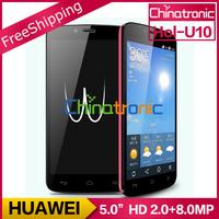 """Original Huawei Honor 3C Play HUAWEI Hol-U10 Mobile Phone MTK6582 Quad-Core 1.3G WCDMA Dual SIM 5.0""""HD IPS 1G RAM 16GB ROM"""