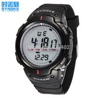 2014 Men's Digital watch Outdoor 50M Waterproof Sports Watch Luminous Alarm Clock Date Multifunction PU Strap Watches