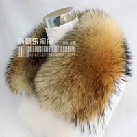 2014 fur collar plus size broadened son of super large raccoon fur collar square collar o-neck fox fur