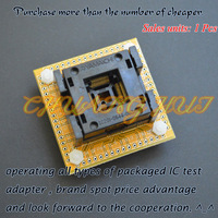 QFP64 TQFP64 ic test socket IC201-0644-003 socket Pitch=0.5mm Size=10x10mm 12x12mm