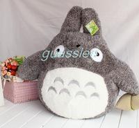 free shipping 30CM Miyazaki Hayao Cute Totoro Plush Stuffed Animal toy doll, girl friend children birthday gift