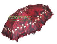 6405,Free Shipping,2014 New Folding Rain Gear,Romantic Flower Umbrella,3 Folding,Automatical,Designed by Italy