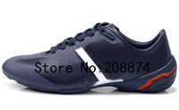 New arrival 2014 New Running Shoes for Men Leisure Sports shoe men's Genuine Leather sneakers men loafers soft leather shoes
