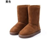 New Warm Ankle Boots Short Plush Male Snow Shoes,Homens de Botas,Australian Classic Styles Short Fur Warm Snow Boots
