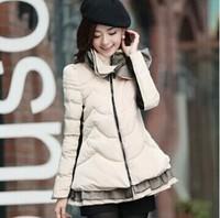 new brand design 2014 quality women parkas winter jacket women winter coat women down & parkas 4 colors plus size hot sale