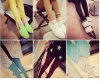 High Quality 8 Colors 2014 Autumn And  Winter Fashion Leggings Leisure Vertical Texture Leggings Pants
