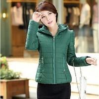 new design 2014  fashion design quality women parkas winter jacket women winter coat women down & parkas cheap price 6 colors