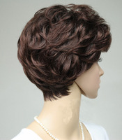 Free Hair-net 2014 High Quality Straight Short Kanekalon Synthetic fiber multi-color Wigs for Women Hair products