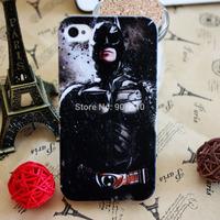 Batman Ironman Superman X-man Captain America The Hulk Series TPU Cellphone Protector Back Case Cover For iphone 4 4G 4S