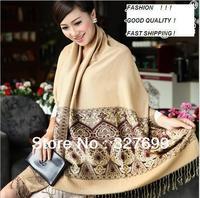 5 pc/lot Large Size Lace scarf women 2014 Long Cotton Scarves 200*70cm Ultra Long Womens's  Pashmina wrap lace Shawls Wholesale