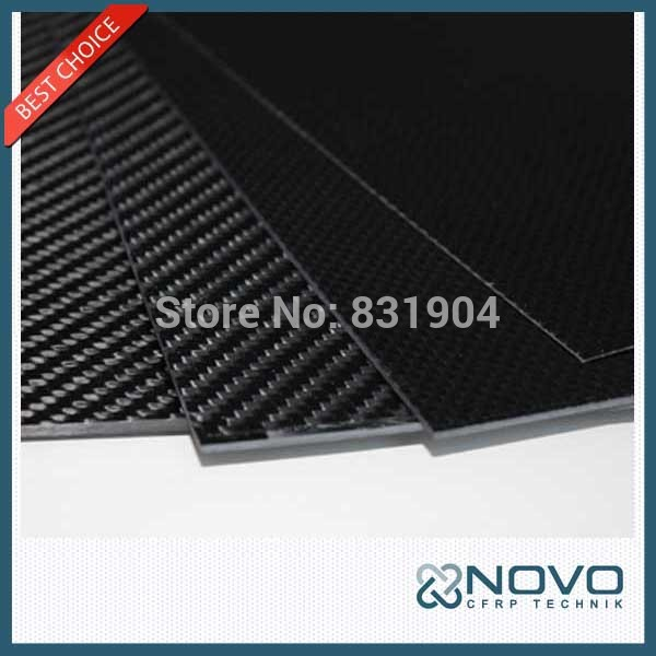 Free shipping black carbon fiber sheeting 500mmx 500mmx 0.5mm carbon fiber panel ,glossy/matte surface(China (Mainland))