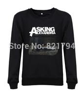 ASKING ALEXANDRIA STAND UP AND SCREAM 2014 Men Sweatshirts Fashion Good Quality 100% Cotton Plus S-XXXL Free Shipping