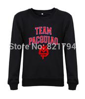 2014 New arrival fashion men/women sweatshirts Team Pacquiao casual mens hoodies hoddes custom design print cotton fleece